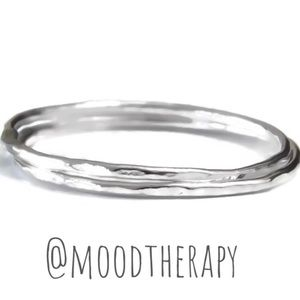 925 Stacked Ring Set of 2
